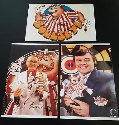 Bullseye Jim Bowen Tony Green Signed (Printed) Darts Tv Legend Gloss Photographs