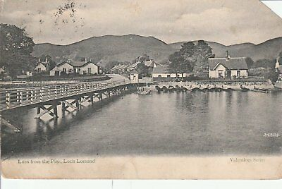 139 Postcard Luss From The Pier Loch Lomond