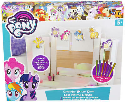 My Little Pony Create Your Own Led Fairy Lights Girls Gift Bedroom Decoration