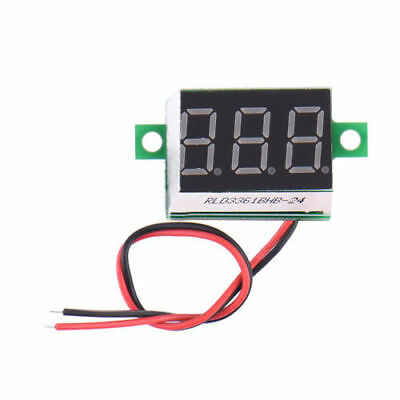 1pc Electric LCD Digital Display Panel Voltmeter Volt Meter DC 4.5-30V