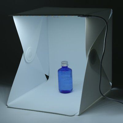 Product Photography Lighting 24cm Tent Kit - Cube Photo Studio Soft Box Shooting