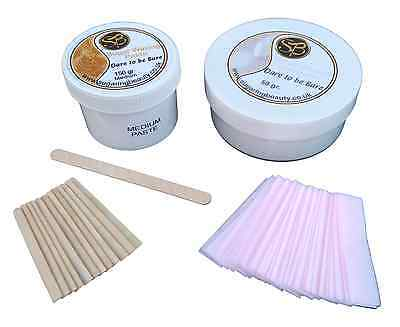 Sugar Waxing, Ear, Nose & Eyebrow Kit for hair removal, 100% Natural Ingredients