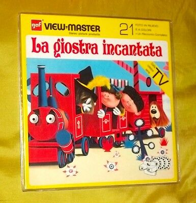 The Magical Roundabouts Giostra Incantata Serie Tv View Master '70