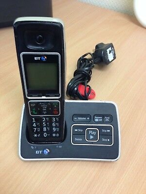 Bt Bt6500 Single Digital Cordless Telephone With Answer Machine