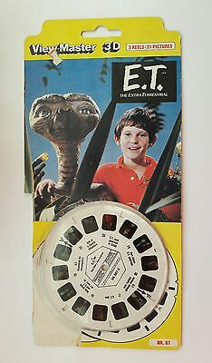 E.T. The Extra Terrestrial Viewmaster 3 Reels Nr.67 Used