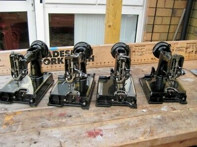 4xSINGER  221 featherweight carcases