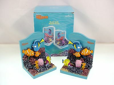 Vintage Disney Finding Nemo Bookends Disney Pixar Hallmark Mint In Box