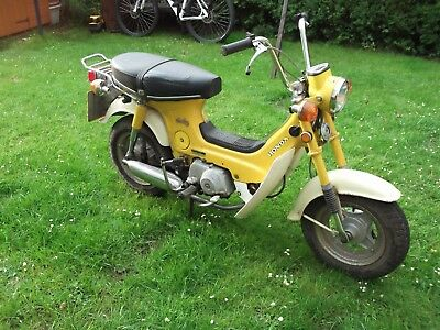 1976 tax exempt honda cf70 chalys  two available  4000 miles and 20000 miles