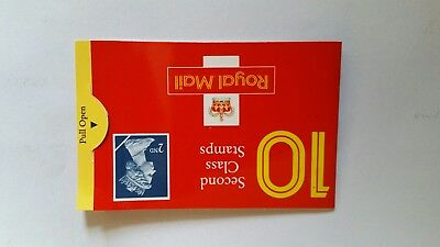 Book of 10 x 2nd class stamps ebayer business.