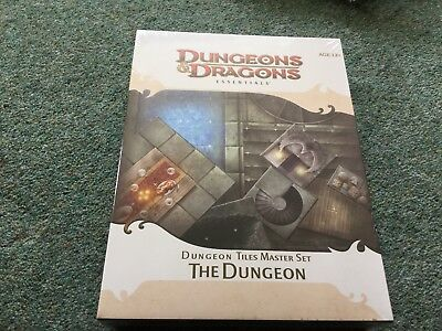 Dungeon Tiles Master Set - The Dungeon - Dungeons & Dragons Essentials 4e 5e RPG