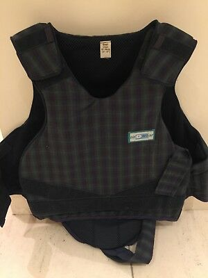Airowear Reiver body protector for adult/child. Essential item for horse riders.