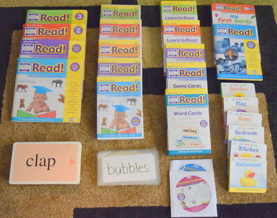 Your Baby Can Read Lot 26 pieces (DVD, Books, Flash cards)