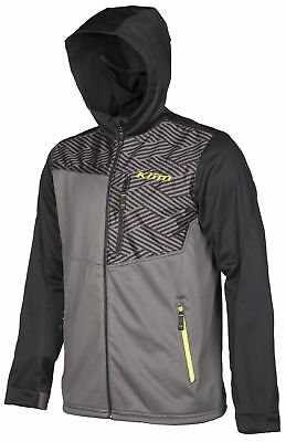 Klim Mens Black Transition Snowmobile Mid-Layer Hoody Snow Snocross 2018