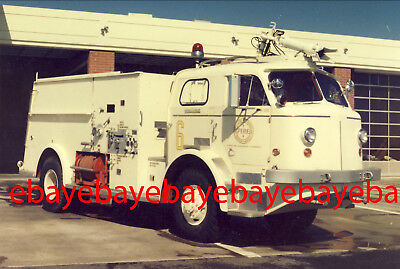 Fire Apparatus Photo, Crash 6, Douglas Aircraft / CA, 1956 American LaFrance 4x4