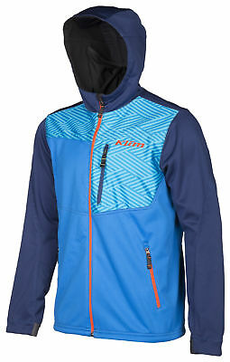 Klim Mens Blue/Navy Transition Snowmobile Mid-Layer Hoody Snow Snocross 2018