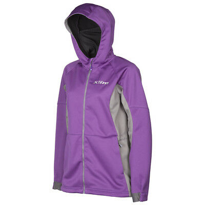 Klim Womens Purple/Grey Evolution Snowmobile Mid-Layer Jacket Snow Snocross 2018