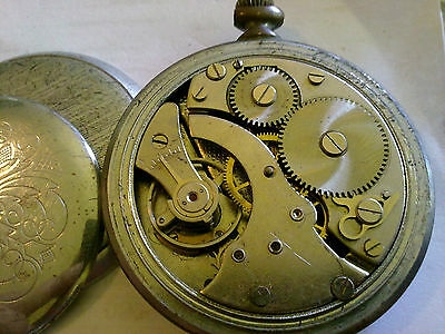 Old Pocket Watch Umf Ruhla  Made In Germany