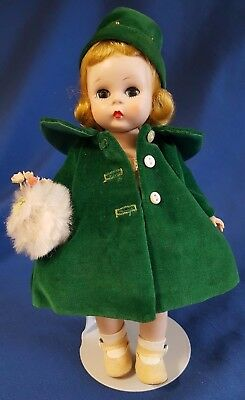 "Vintage Madame Alexander Doll 8"" Wendy Wears a Charming Ensemble #625 1956 BKW"