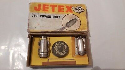 vintage jetex jet power unit for model aircraft ect