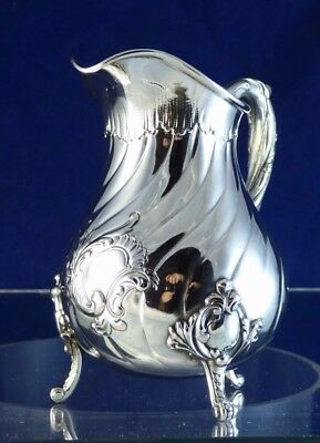 Cute, Antique, Silver Milk Jug, 1890!!!