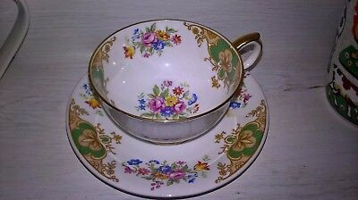 Vintage China Duo Shabby Chic Wedding Table Afternoon Tea Party Gift Dresser Fab