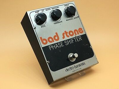 Original, Vintage, 1970s Electro-Harmonix Bad Stone Phase Shifter - Guitar Pedal