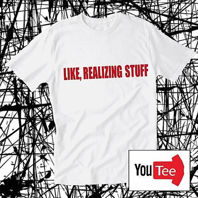 QUALITY Like realizing stuff Realising tshirt t-shirt kylie fashion jenner tee