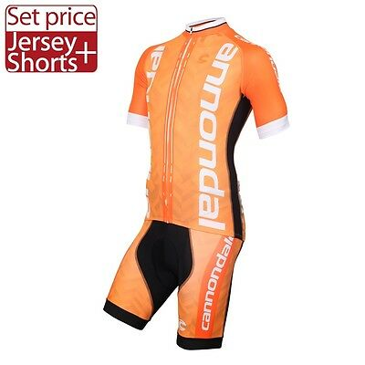 Completo ciclismo/Cycling Jersey and pants  Team Cannondale Arancio