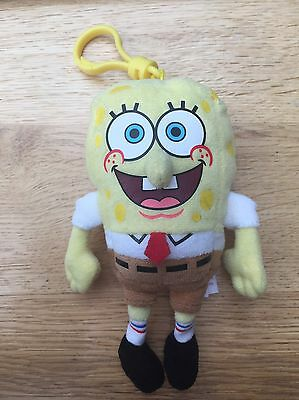 Spongebob Keyring soft toy plush