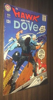 HAWK AND DOVE #3 -- January 1969 -- Steve DITKO -- VG/F Or Better
