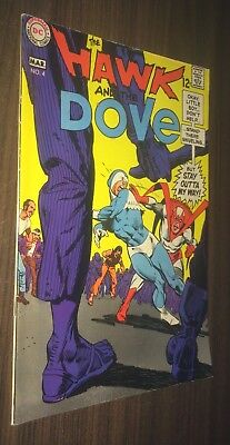 HAWK AND DOVE #4 -- March 1969 -- Steve DITKO -- F+ Or Better