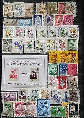 Collection Of Stamps Including 1960 Mini Sheet