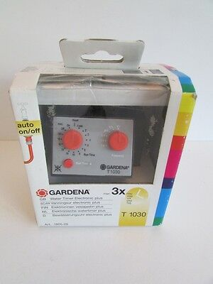 Gardena Classic T1030 plus Automatic Water Timer Computer for gardens and plants