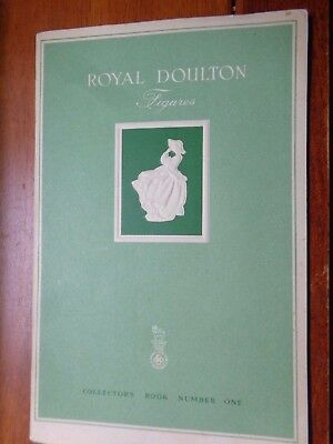 Vintage Royal Doulton Collectors Book Number One 1949