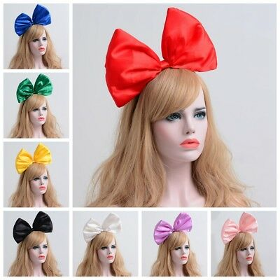 Oversized Super Giant Big Bow-knot Hair Headband Party Photo Props Kiki Cosplay