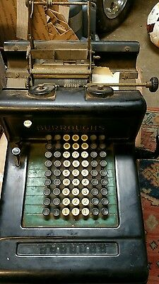 Vintage Early 1900's Burroughs adding machine