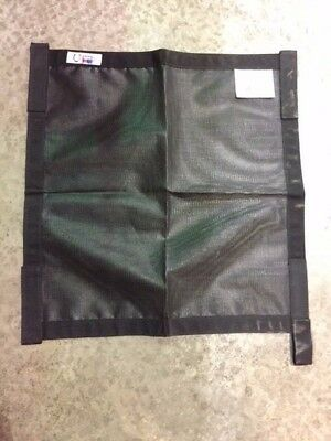 """Horse Trailer Window Screen by World Class Equine with velcro straps 25"""" x 24"""""""