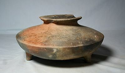 Colima tri-pod shoulder olla 300 bc. to 300 ad. No Restoration
