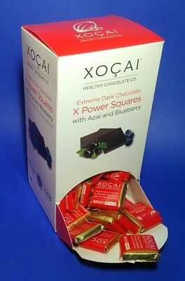 1 box - Xocai Healthy Chocolate X Power Squares 140 pieces per box - New sealed