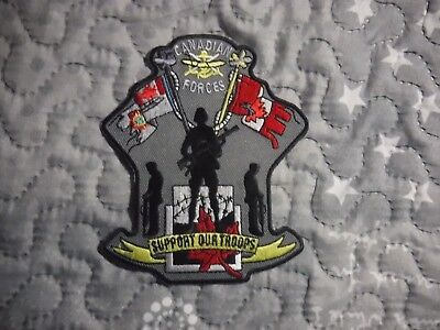 """Awesome Canadian Forces """"Support our Troops"""" patch!"""