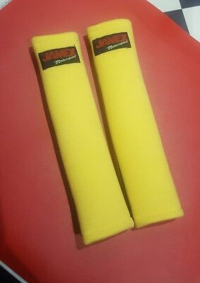 "Jamex Harness Race Pad For All Seat Belts & 2"" Rally Harness Straps - Yellow"