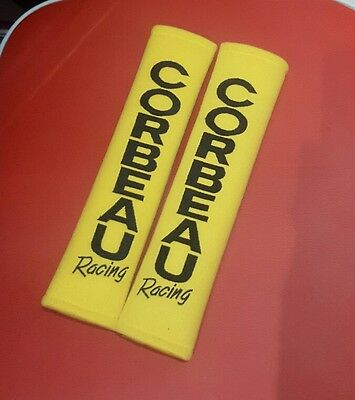 "Corbeau Harness Race Pad For All Seat Belts & 3"" Rally Harness Straps - Yellow"