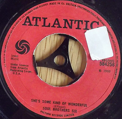 """The Soul brothers six-She's some kind of wonderful 7"""" Single 1969"""