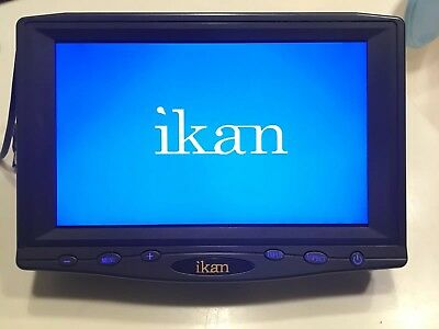 "ikan VH7 7"" HDMI LCD Monitor salesman sample"