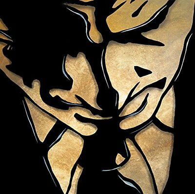 CANVAS Exhausted by Tom Fedro 12x12 Art Print Wall Decor Abstract Male Mask