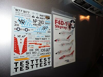 CUTTING EDGE 1/48th SCALE SHEETS FOR F4D-1 SKYRAY PT 2  # 48-090
