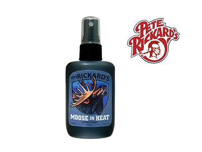Pete Rickard - New 2 Oz. Moose In Heat Hunting Lure - Lh559 Trail Camera Scent