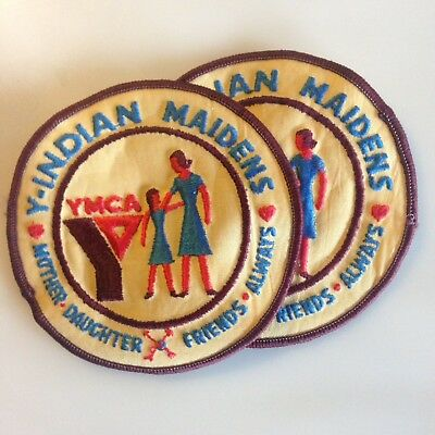 Y-INDIAN MAIDENS - YMCA Patch