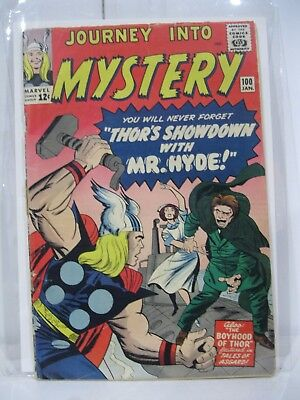 Journey Into Mystery 100 HIGH GRADE Key Issue Movie Hot