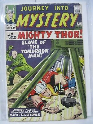 Journey Into Mystery 102 1st SIF HIGH GRADE Key Issue Movie Hot MUST HAVE